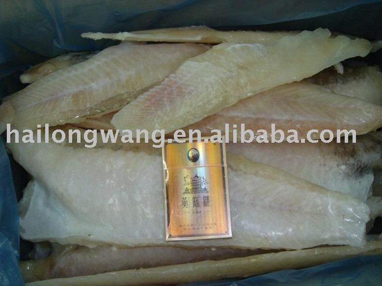 frozen cod fillets (white fish fillets)