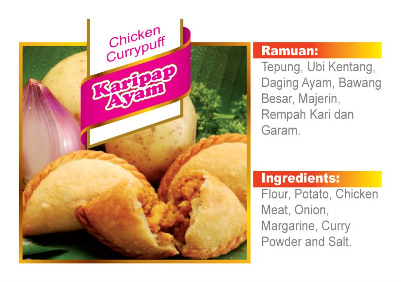 Currypuff Chicken Products Malaysia Currypuff Chicken Supplier
