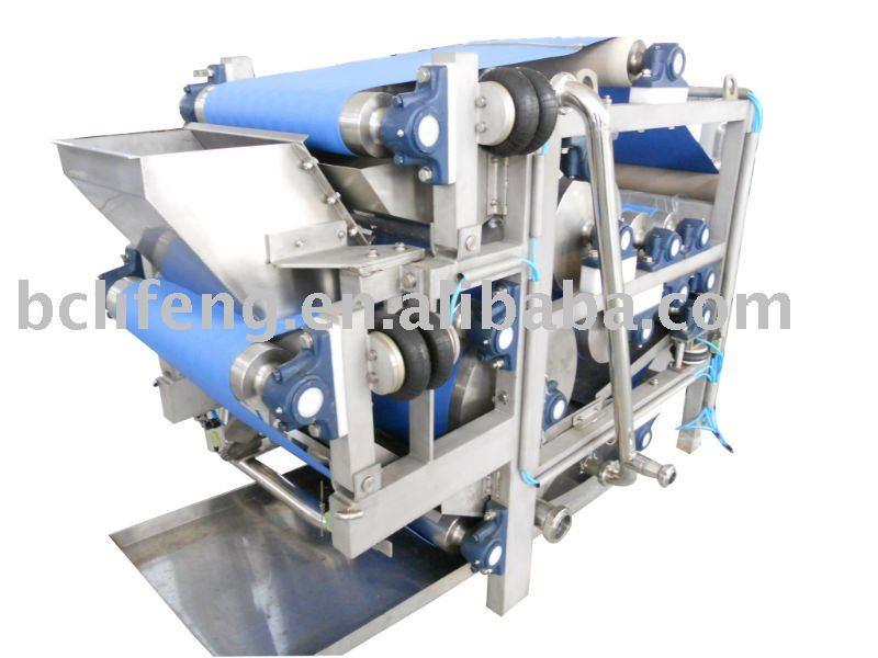 Juice filter press