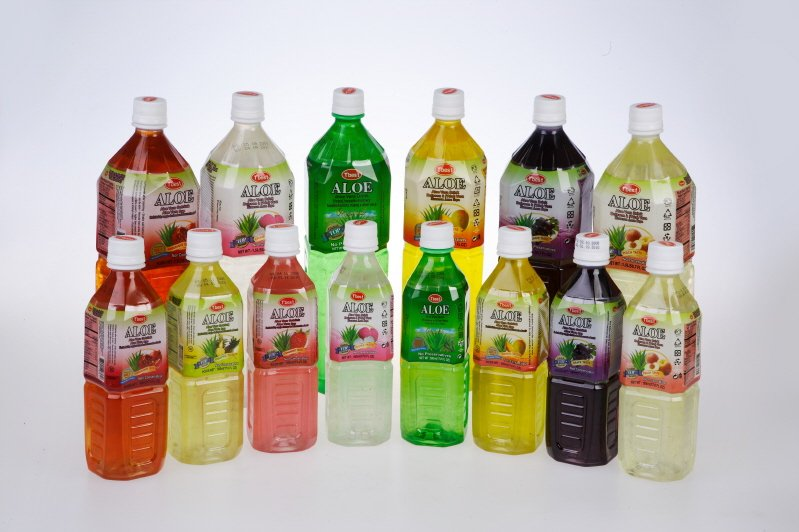 Asian Bottled Aloe Drinks