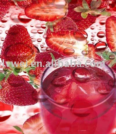 strawberry juice concentrate (beverage)
