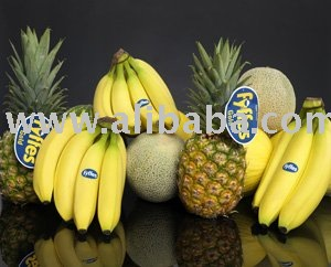 FRESH DARK GREEN CAVENDISH BANANA,CHIQUITA  DEL MONTE BRAND