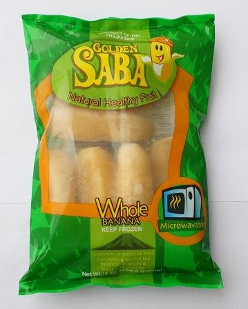 FROZEN SABA BANANA (MICROWAVABLE)