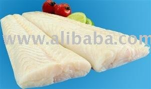 Naural hake fillets and loins