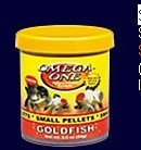 Pelleted  Fish Foods Small Goldfish Pellets