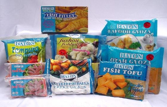 Haton Frozen seafood products,Singapore Haton Frozen seafood supplier