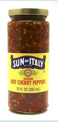 Peppers - Hot Chopped Peppers (Ground 12 oz.)