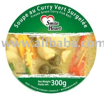 Frozen Green Curry Fish Ball