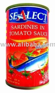 Sardines In Tomato Sauce, Thai Thailand Food Fish Canned