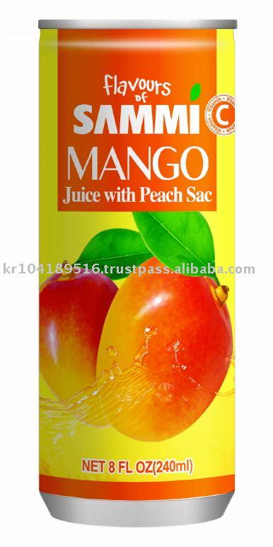 Flavous of Sammi 240ml Mango Juice w / Sac