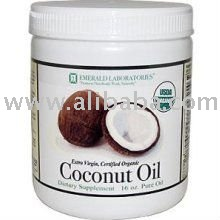 Emerald Labs Coconut Oil, Extra Virgin, Certified Organic, 16 oz