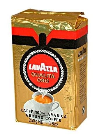 Lavazza Qualita Oro 0 25 Kg Ground Coffee From Italy From