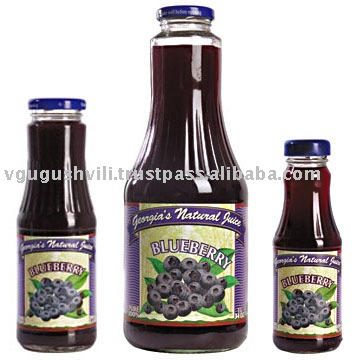 Organic Blueberry Juice 100% Natural