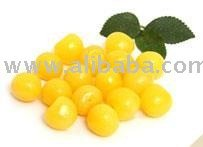 Cherries with yellow firm flesh