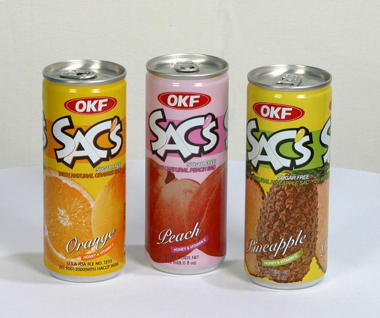**SAC's fruit juice