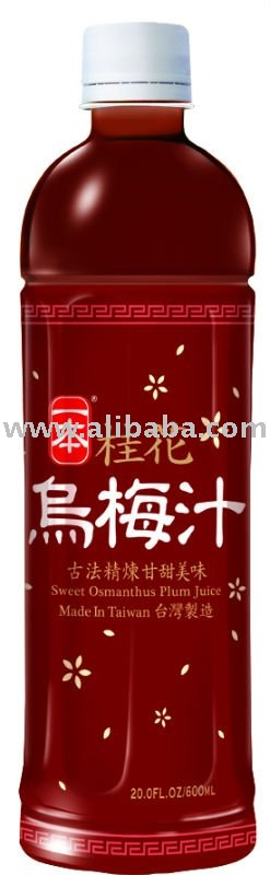 e-Ben Sweet Osmanthus Plum Juice