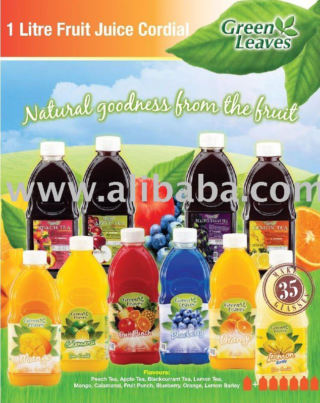 Fruit Juice Cordial & Syrup