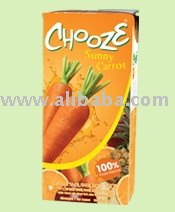 CHOOZE Sunny Carrot 100% Carrot with MIXED FRUIT  JUICE   from   Concentrate
