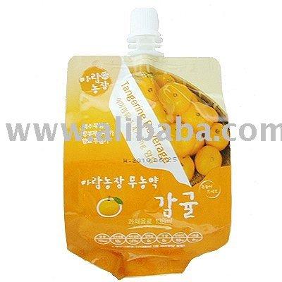 Aramfarm Eco-freindly Tangerine Juice 138ml Pouch