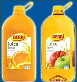 Berri Fruit Juices - 3.0L