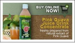 Pink Guava Cordial Juice