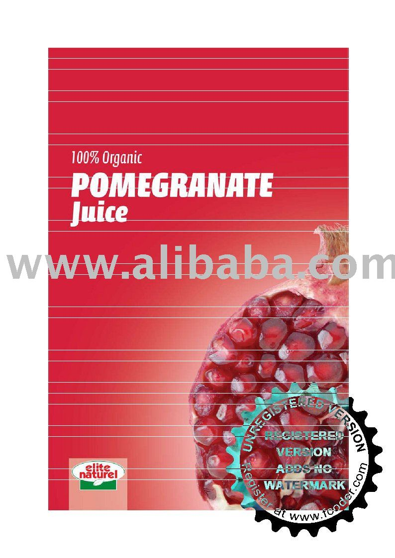 Elite - % 100 Organic Direct Pomegranate Juice
