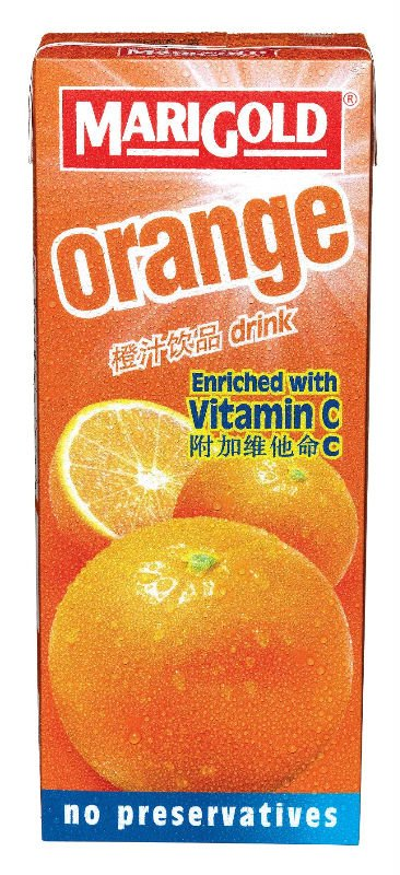 MARIGOLD ORANGE Fruit Juice