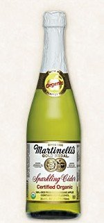 Certified Organic Sparkling Cider - 6 pack