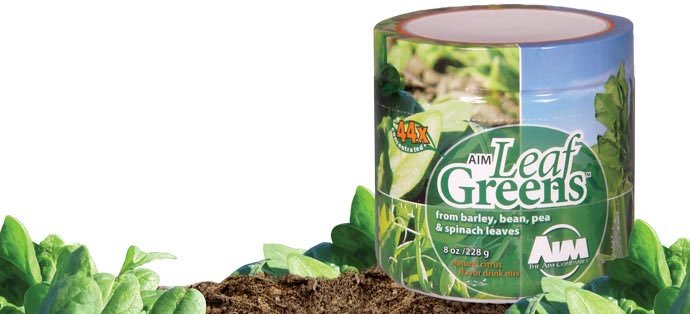 AIM Leaf Greens juice concentrated