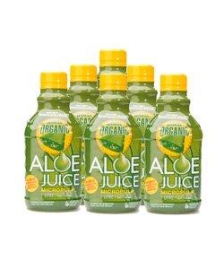 Certified Organic Micropulp Aloe Vera Juice (1L x 6)