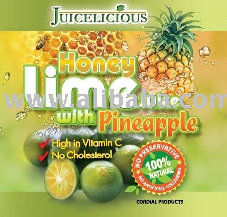 Honey Lime Juice with Pineapple