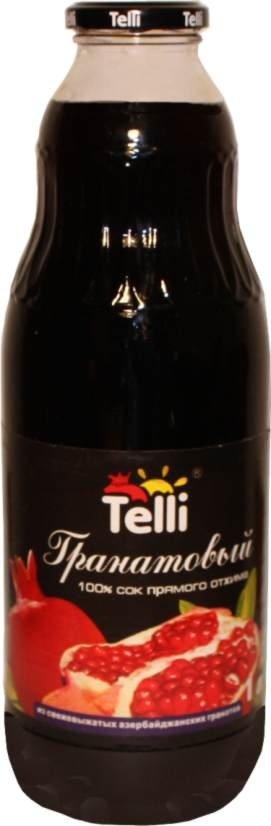 TELLI-POMEGRANATE JUICE from Azerbaijan-Premium class