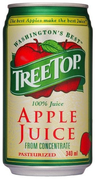 Apple juice(340mlTREETOP)