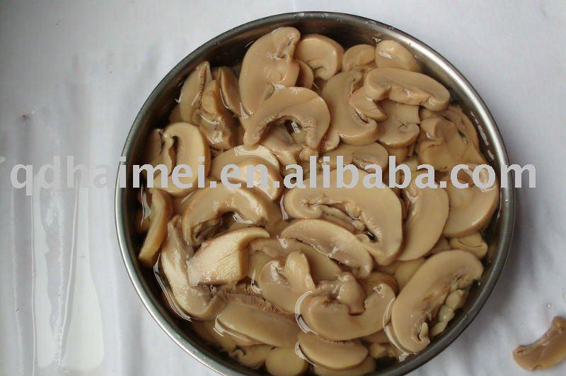 2011 new crop mushroom tinned food  in P S,slice