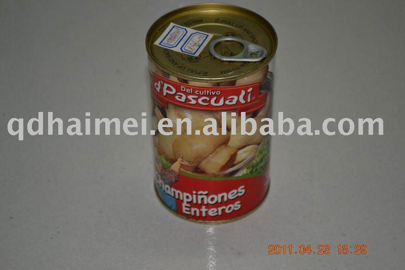2011 whole mushroom tinned food