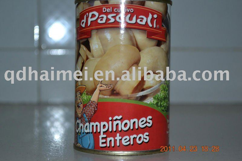 2011 button  mushroom   tin ned food