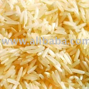 White Fibers Parboiled (Sella) Basmati Rice