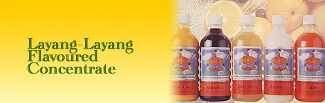 """LAYANG-LAYANG"" FLAVOURED CONCENTRATE"