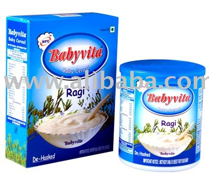 De-husked Ragi Flour, Cardomom, Vitamins & Minerals