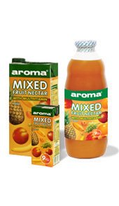 Aroma fruit juices and soft drinks