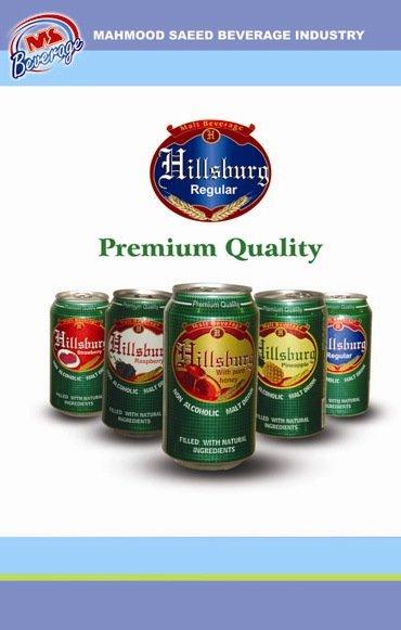 Hillsburg Non-Alcoholic Malt Beverage