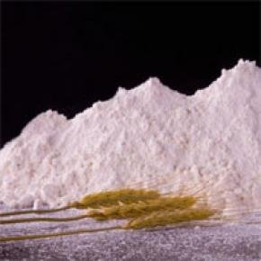 "High-grade wheat ""bread flour""."
