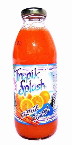 Tropik Splash Orange Carrot Juice