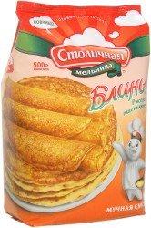 Rye-wheat pancakes