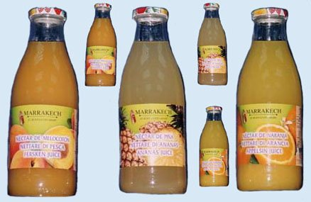 Exotic Juices ( Mango, Guava, Peach. )