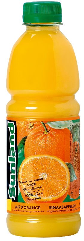 Sunland 100% Pure Orange  juice   from   concentrate