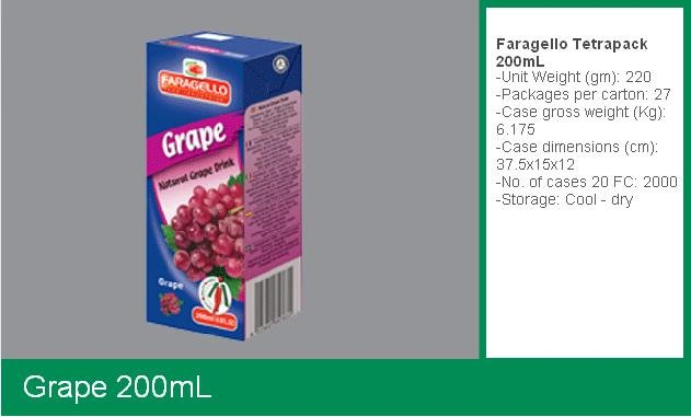 Fruit Juice (200mL Pack)