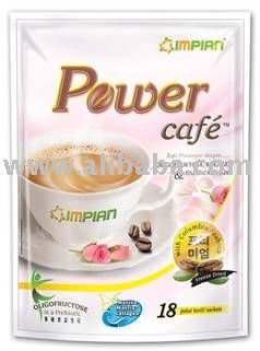 Power Cafe with health benefits(Women) -Marine Collagen,Oligofructose and Labisia Fumila