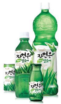 Woongjin aloe drink