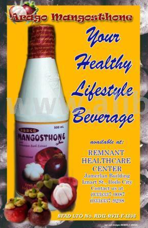 Arago Mangosthone Juice